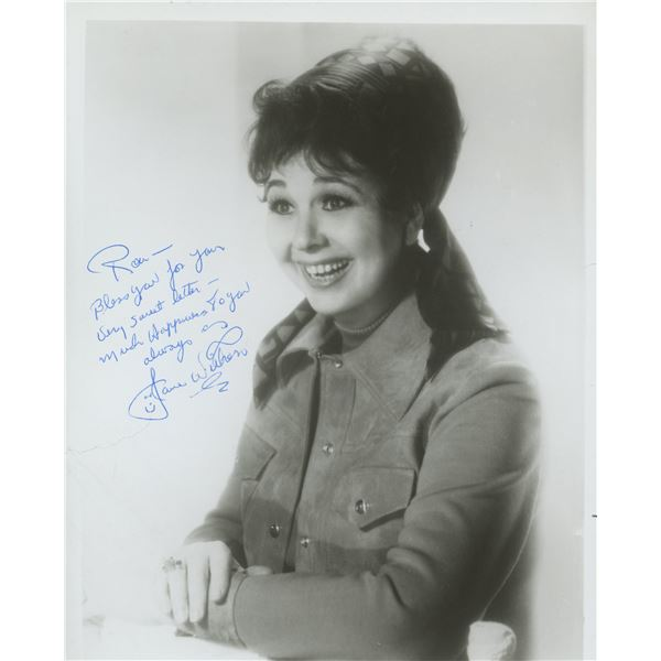 Jane Withers signed photo