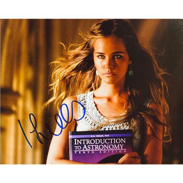 Isabel Lucas signed photo