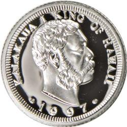 1997 Proof Quarter-Ounce Platinum Pattern, 1 of