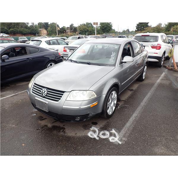 2005 Volkswagen Passat