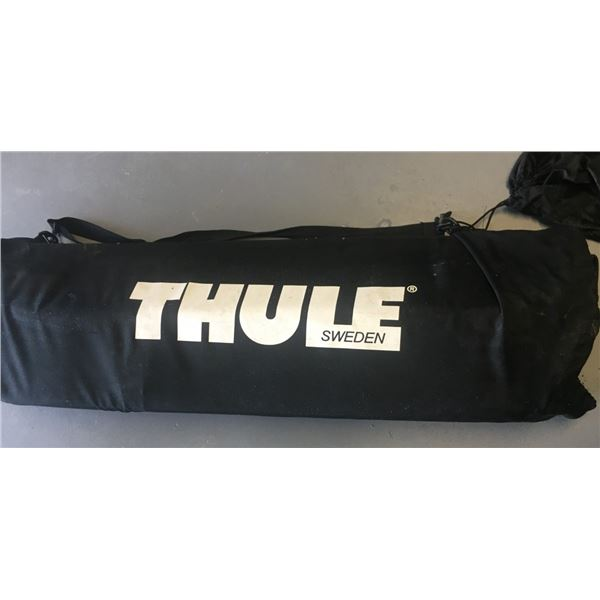 Thule Brand Ranger 90 Folding Roof Box for vehicle in carrying bag
