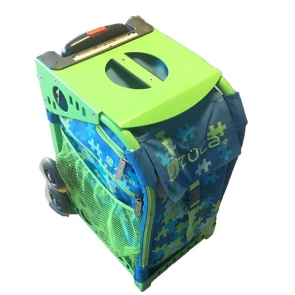 ZUCA Puzzle Sport Insert Bag and Green Frame (Acts as a chair as well!)