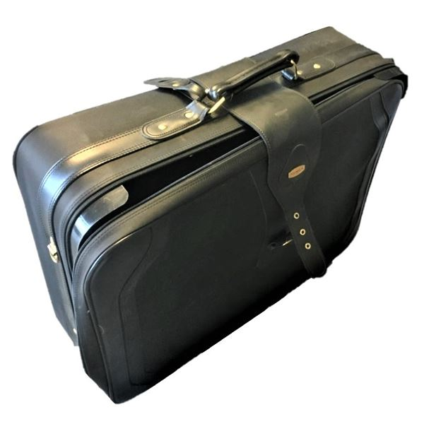 Two Destination Suitcases - Smaller one fits inside larger, larger is on wheels