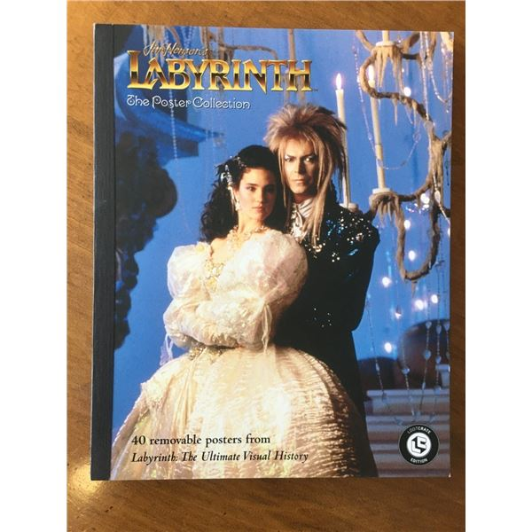 NEW Labyrinth The Poster Book Collection - 40 Posters