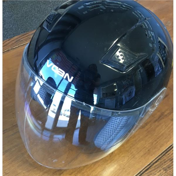 VCAN FMVSS 218 Helmet With Face Visor Size Large
