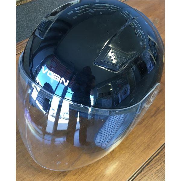 VCAN FMVSS 218 Helmet With Face Visor Size MEDIUM