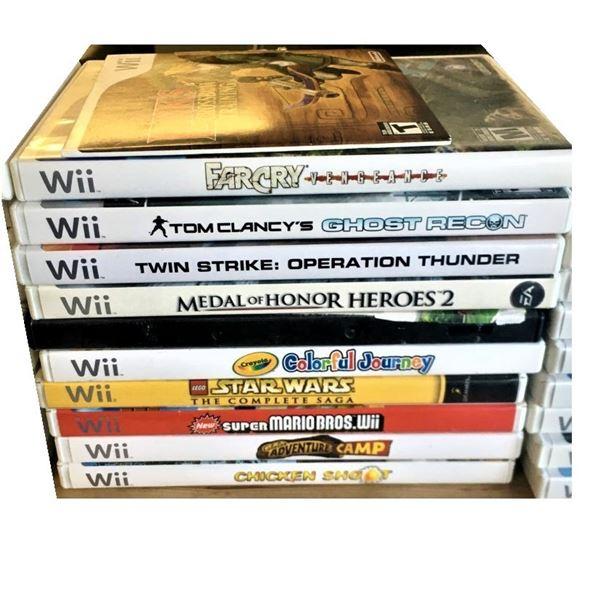 Wii Games - ELEVEN Games