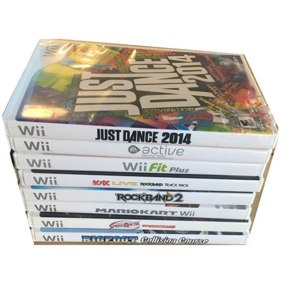 Wii Games - EIGHT  Games