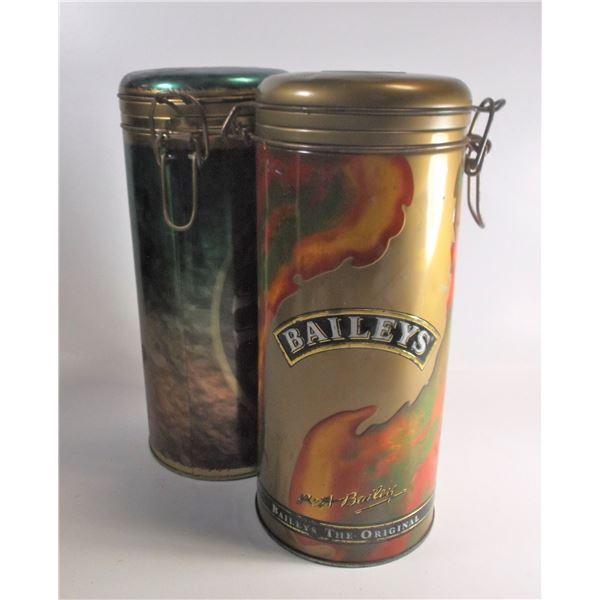 Bailey's Tins -  1995 & 2000