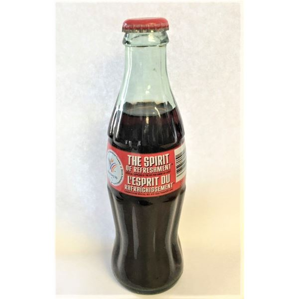"Coke Bottle "" 1999 Pan American Games"" - Full"