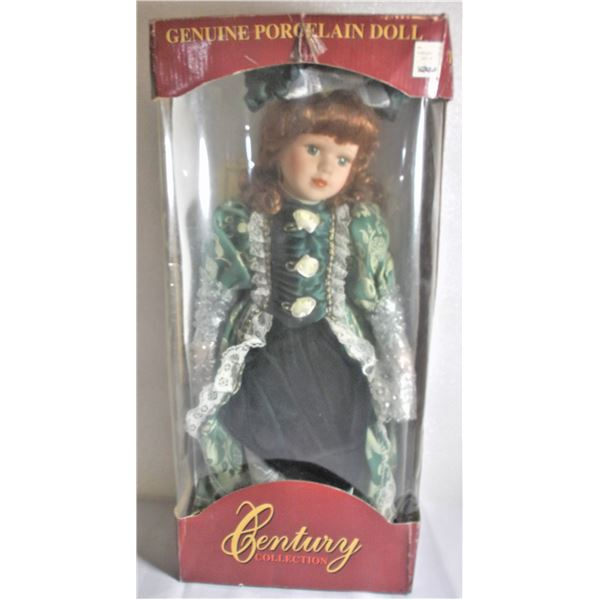 Century Collection Porcelain Doll - in Box