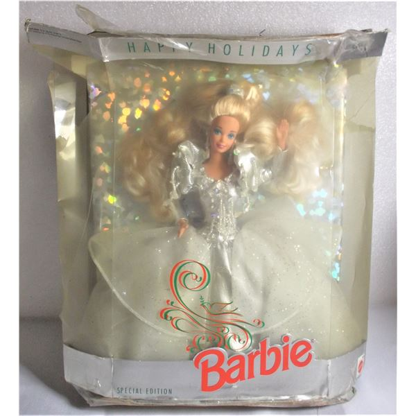 Happy Holidays Barbie - 1992