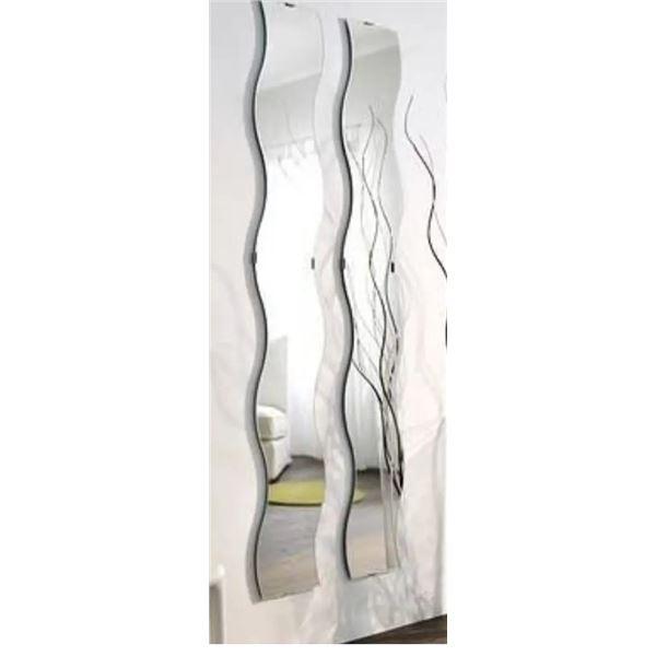 IKEA KRABB Wavy Mirrors NEW IN PACKAGING