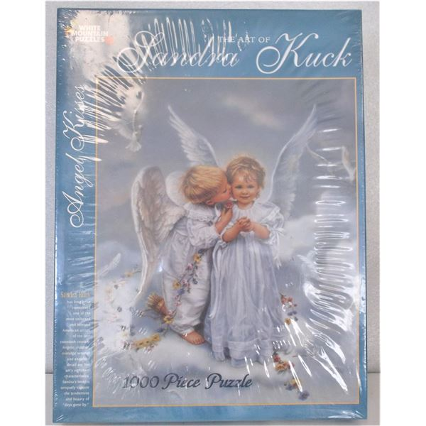 NEW 1000 Piece Puzzle - Angel Kiss