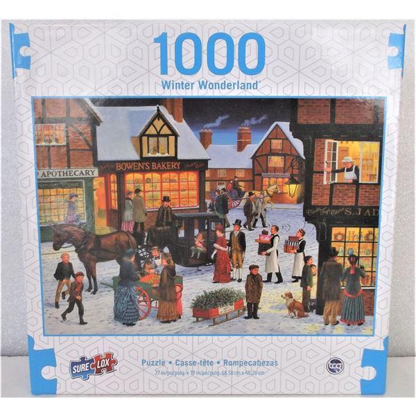 1000 Piece Puzzle - Winter Wonderland