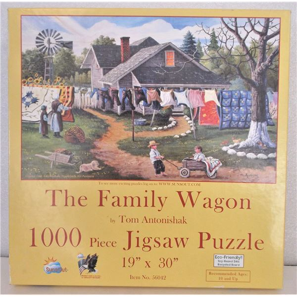 1000 Piece Puzzle - The Family Wagon