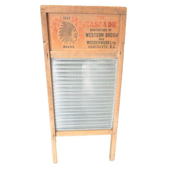 Chief Brand Washboard