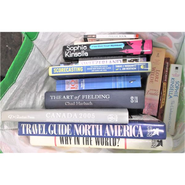 Lot of Travel/Sports Books and Novels