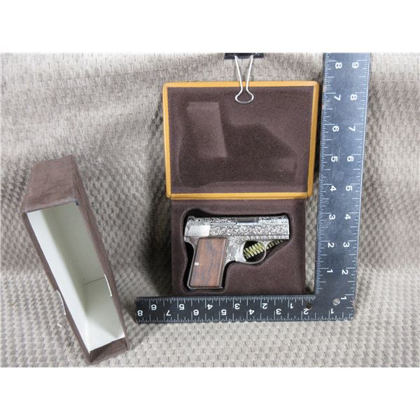 PAL MUST HAVE 12-6 ON IT TO BUY THIS - Highly Engraved Baby Browning in 6.35MM/25 ACP