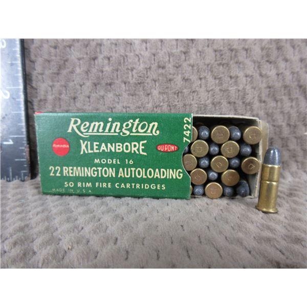 Collector Ammo - 22 Remington Autoloading Box of 50