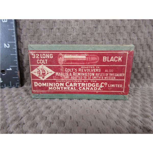 Collector Ammo - Dominion 32 Long Colt Black - Box of 50