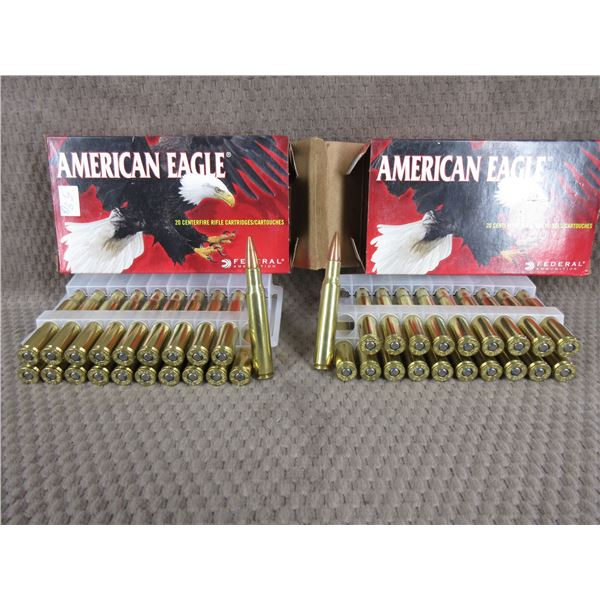 30-06 American Eagle 150gr FMJ Boat-Tail - 2 Boxes of 50