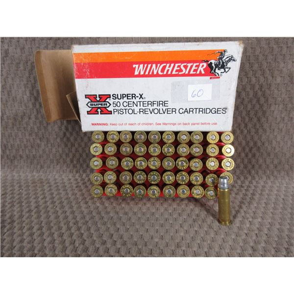 357 Magnum Winchester 158gr, Lead - Box of 50