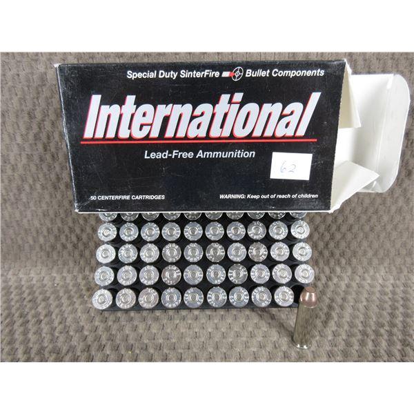 38 SPL International 110gr, Frangible - Box of 50