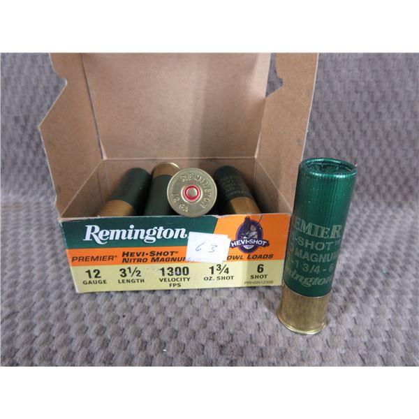 "12ga 3 1/2"" Remington Hevi-Shot #6 - Box of 10"