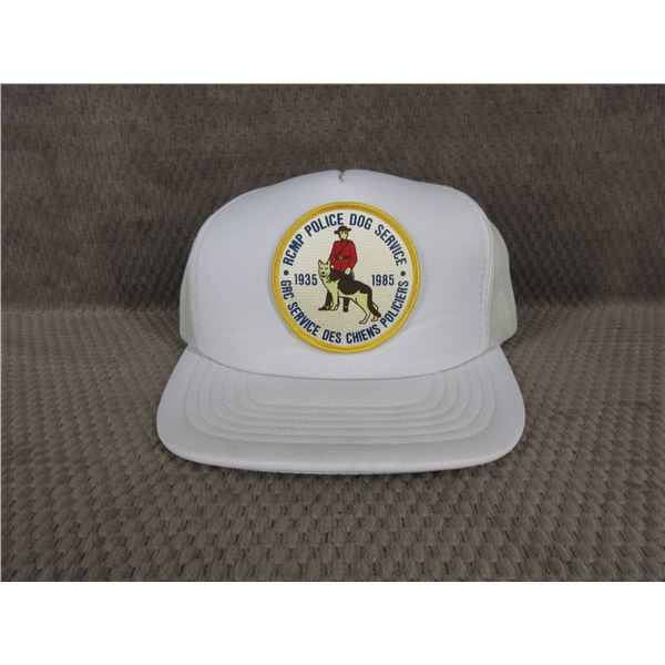 RCMP Police Dog Service Ball Cap - Appears Unused