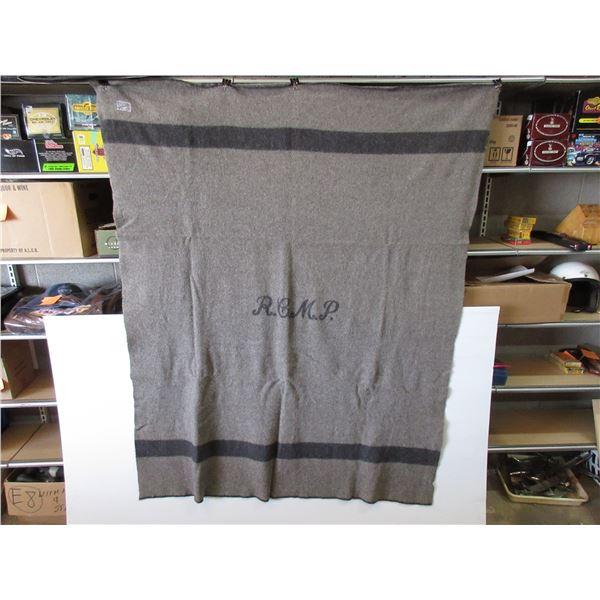 RCMP Wool Blanket Issued to Members in 1950's
