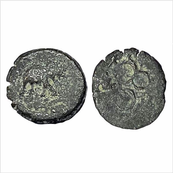 Pre-Satavahana, Kukutakhada (2nd – 1st Cen. BC), Copper Unit, Marathwada Region, 2.40g