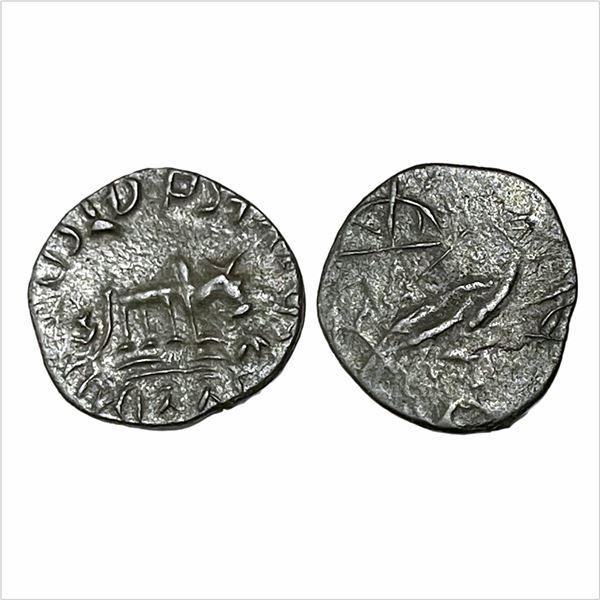 Kadambas of Banavasi,(AD 325-620).Potin Unit,1.86g