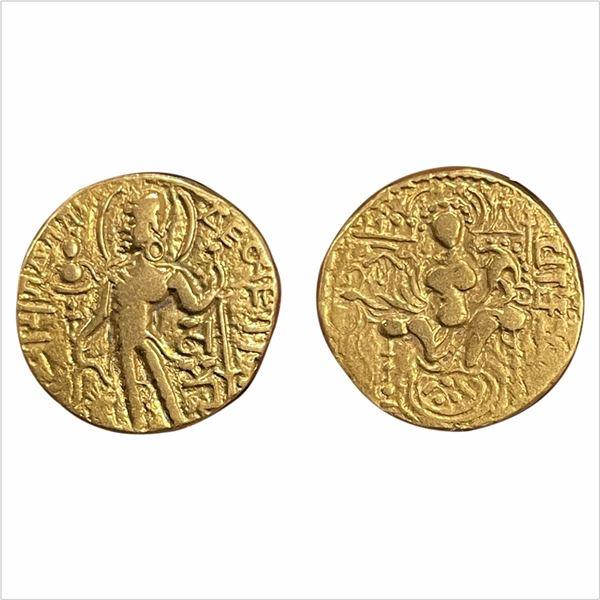 Gupta Empire, Samudra Gupta (350-375 AD), 7.43g