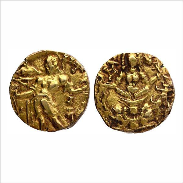 "Gupta Dynasty, Chandragupta II, Gold Dinar, ""Archer"" type, 7.8g"