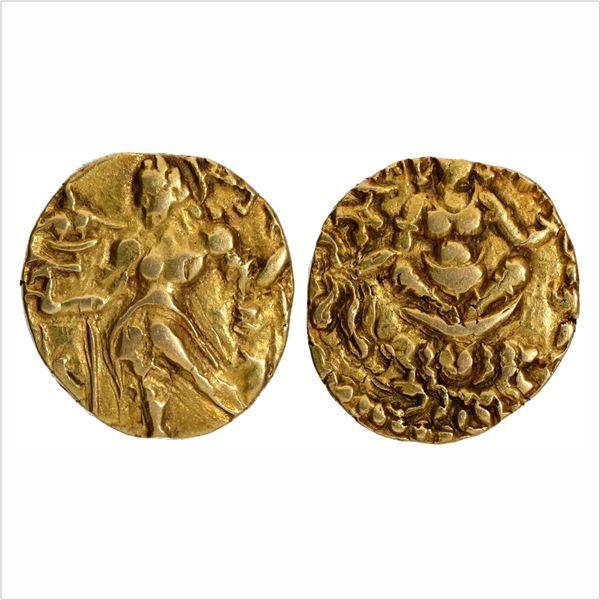 "Gupta Dynasty, Chandragupta II, Gold Dinar, ""Archer"" type, 7.80g"