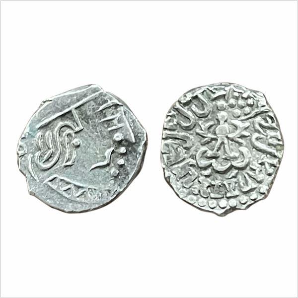 Gupta Dynasty, Kumar Gupta I (AD415-455). Silver Drachma, 2.09g