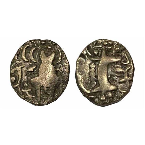 Karkotas of Kashmir, Pratapaditya (500-600 AD), 7.44g