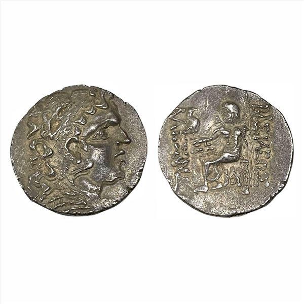 Ancient World, Kings of Macedonia, Alexander III, (90-80 BC), Silver Tetradrachma, 15.98g