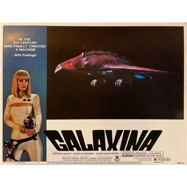 Galaxina 1980 Original Vintage Lobby Card