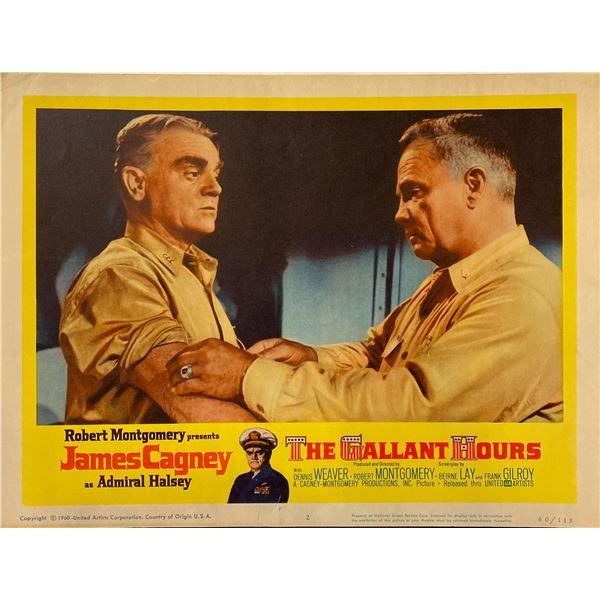 The Gallant Hours 1960 Original Vintage Lobby Card