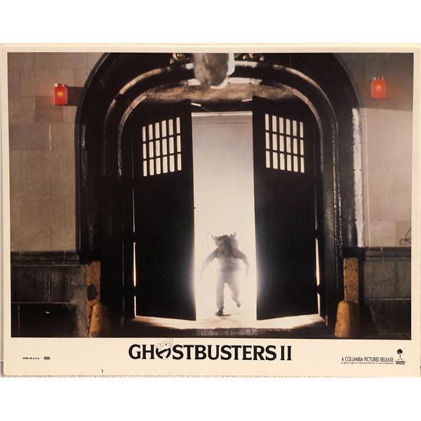 Ghostbusters II original 1989 vintage lobby card