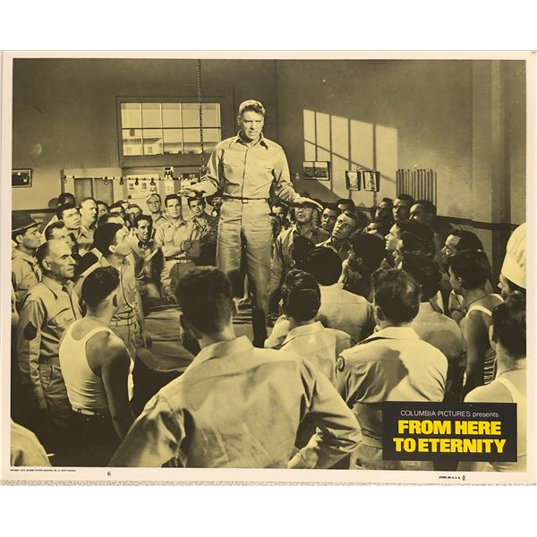 From Here To Eternity 1978R Original Vintage Lobby Card