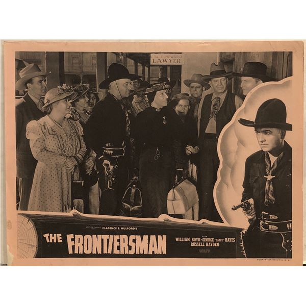 The Frontiersmen 1948 Original Vintage Lobby Card
