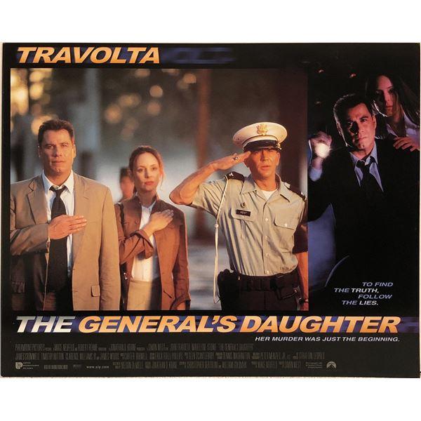 The General's Daughter original 1999 vintage lobby card