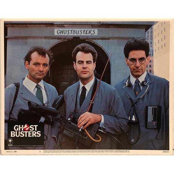 Ghostbusters original 1984 vintage lobby card