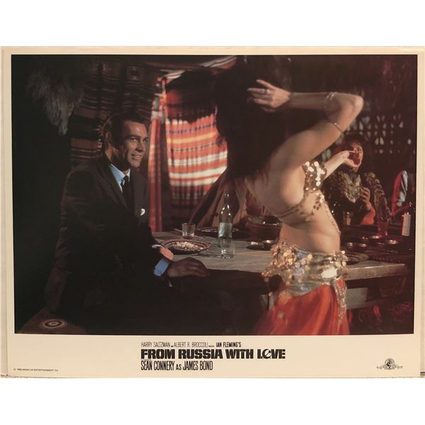 From Russia With Love 1984R Original Vintage Lobby Card