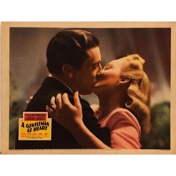 A Gentleman at Heart original 1941 vintage lobby card
