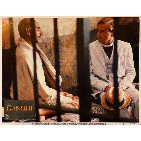 Gandhi 1982 Original Vintage Lobby Card