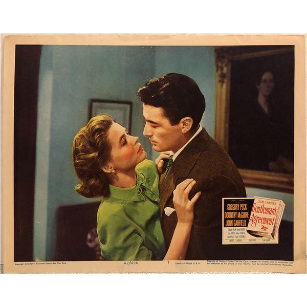 Gentleman's Agreement original 1947 vintage lobby card